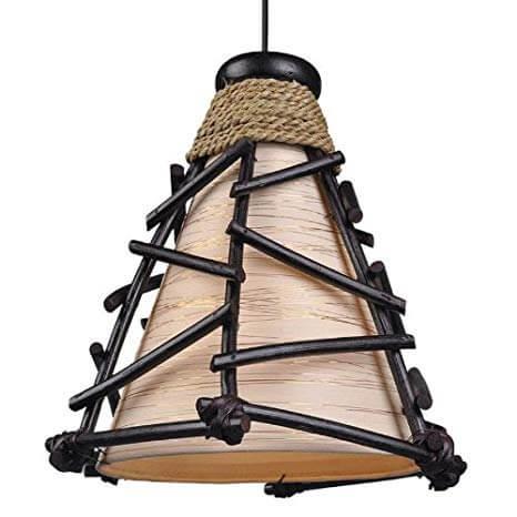 Lámpara africana.