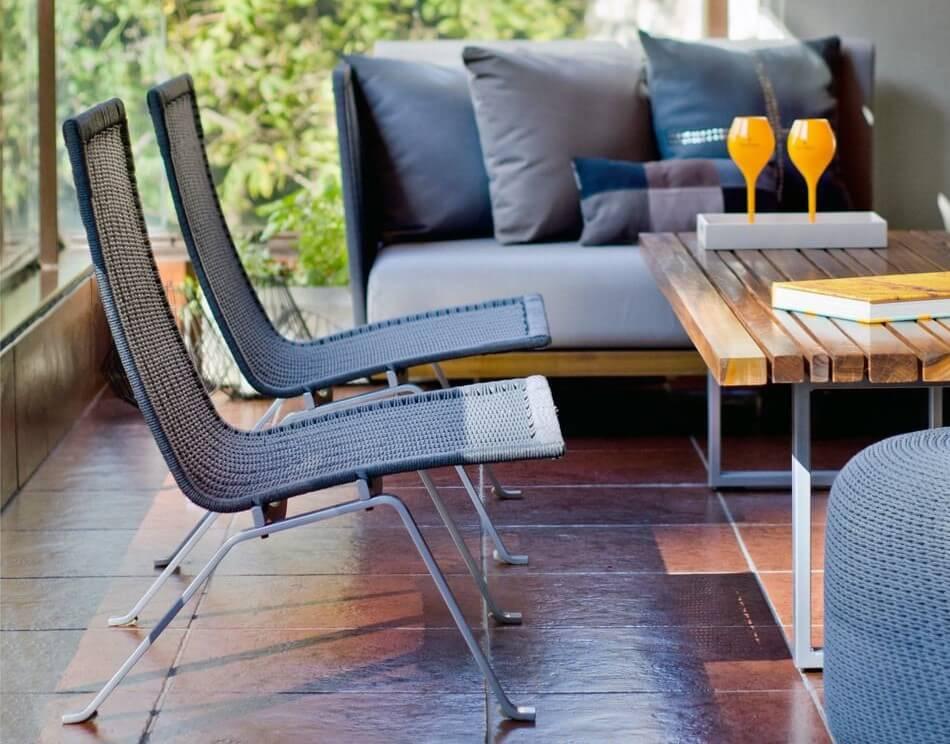 sillones contemporáneos sala de estar Los Muebles Contemporneos De Mausy Design