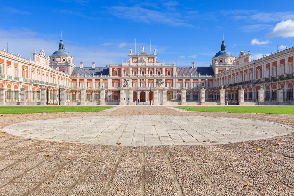 Historia sobre el Palacio de Aranjuez.