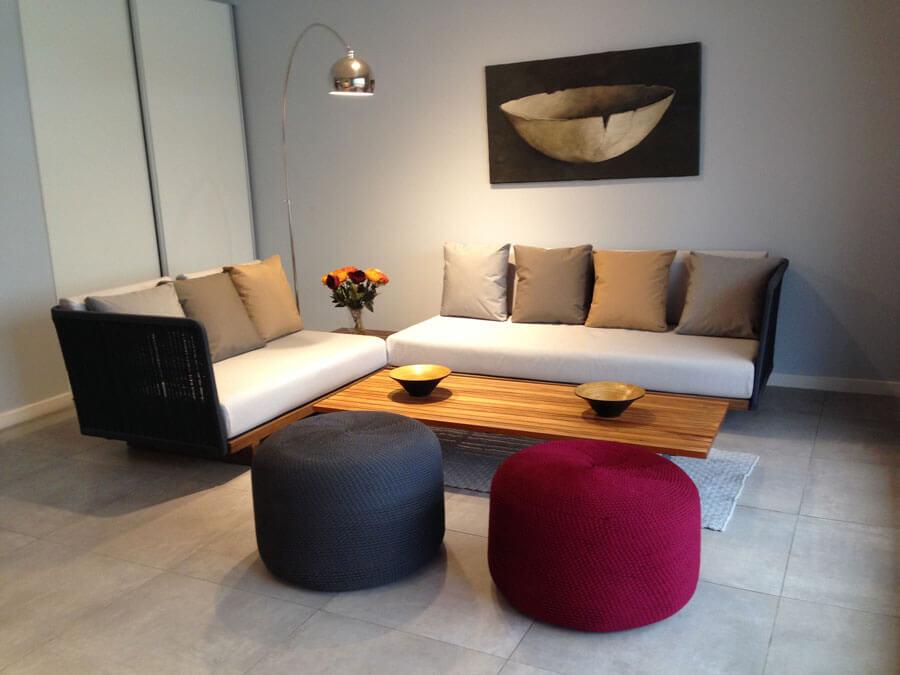 Sofás Ibiza de Mausy Design.