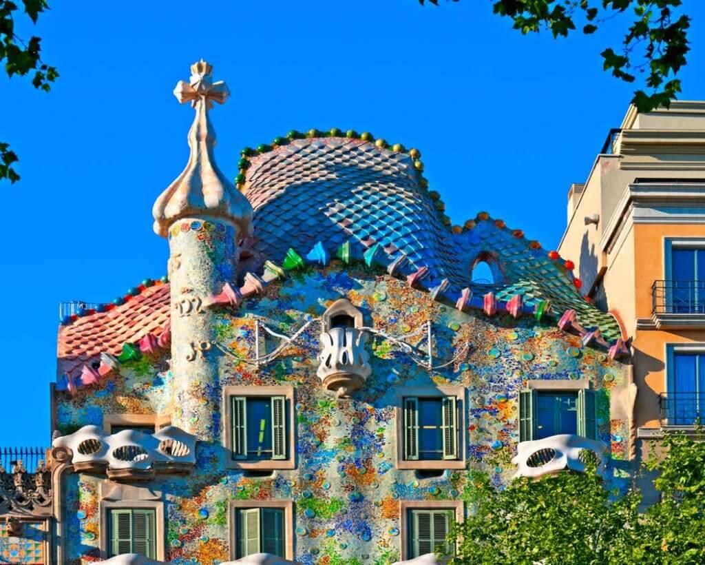 Exterior de la Casa Batlló.