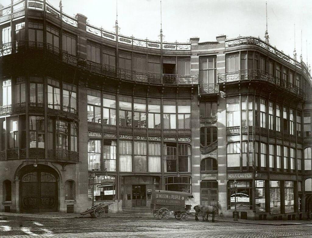 Casa del Pueblo de Víctor Horta: arquitectura y diseño