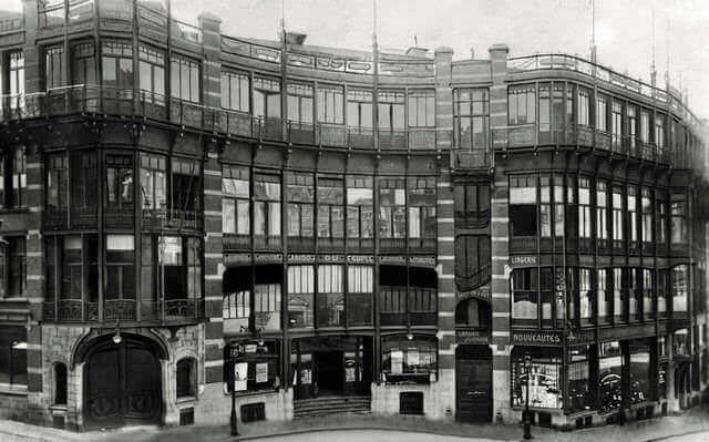 La Casa del Pueblo de Víctor Horta.