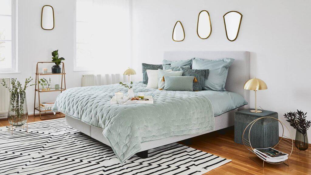 Dormitorio art déco.