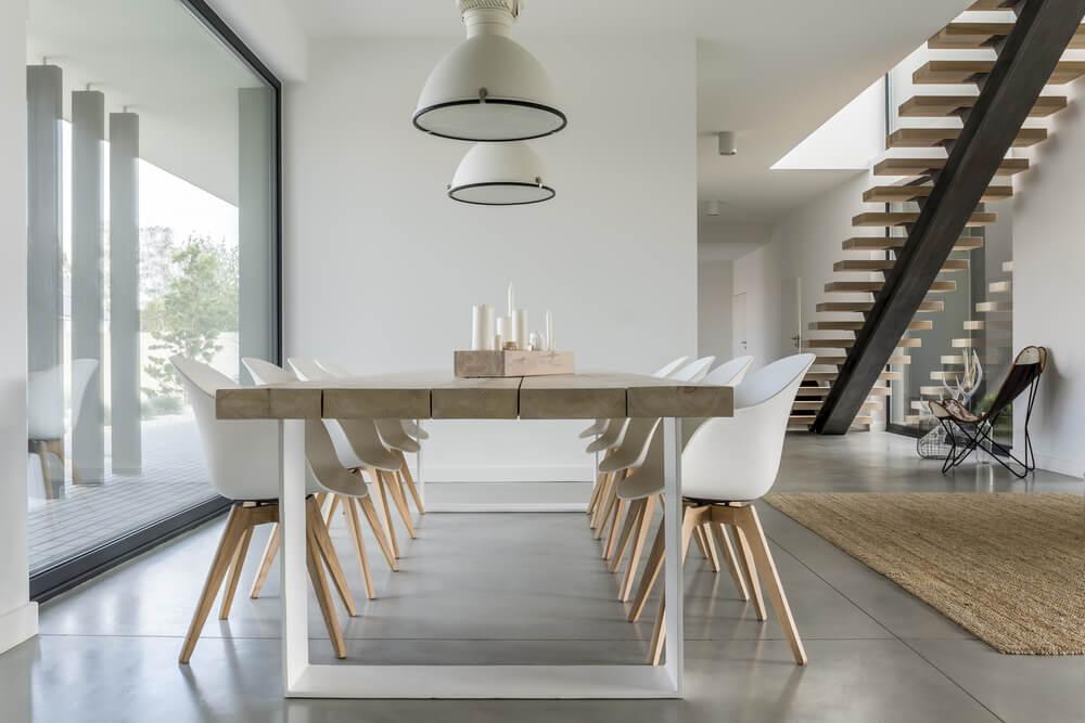 Estilo minimalista para una casa.