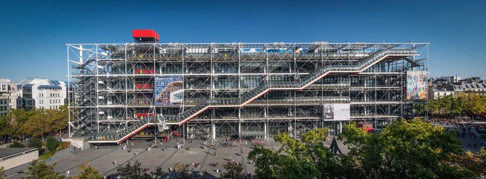 Historia del Centro Pompidou.