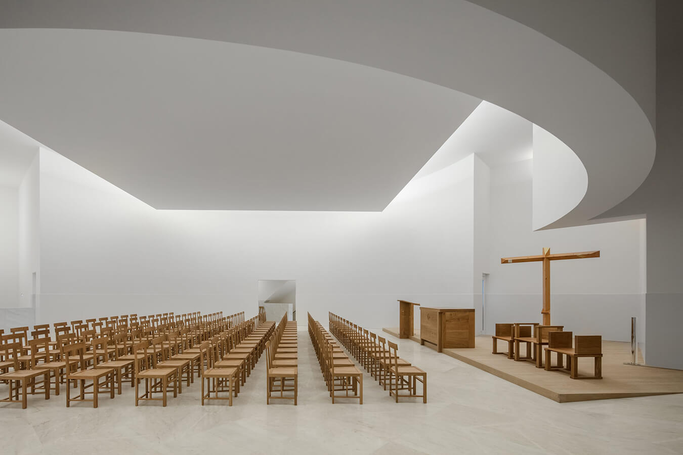 Iglesia de Álvaro Siza.