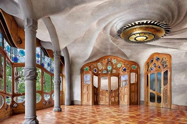 Interior de la Casa Batlló.