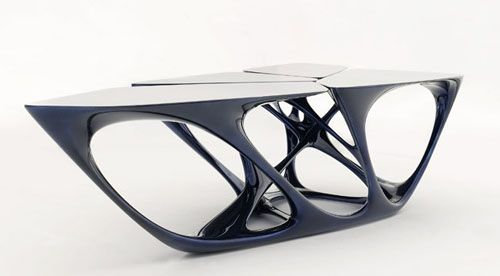 Mesa Table de Zaha Hadid.