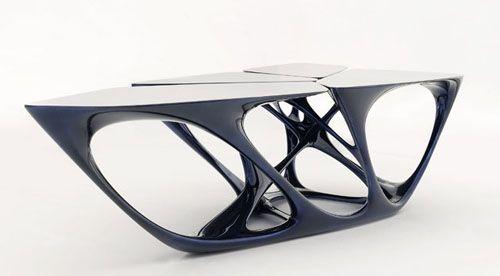 Mesa Table de Zaha Hadid.