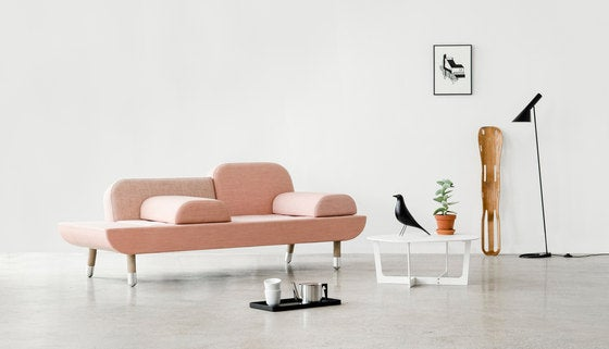 Los diseños de sofás de Erik Jorgensen