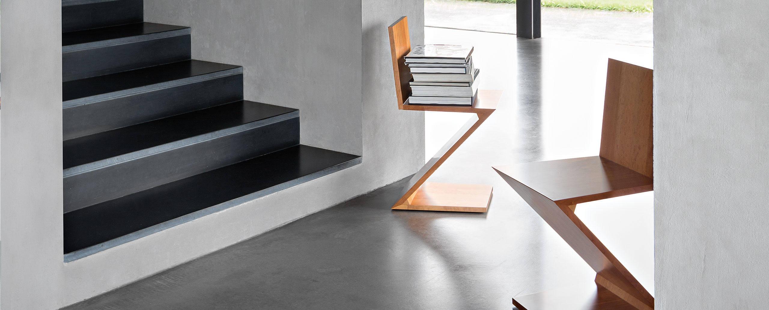 La silla Zig Zag de Gerrit Rietveld