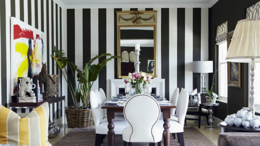 Papel de pared en blanco y negro.