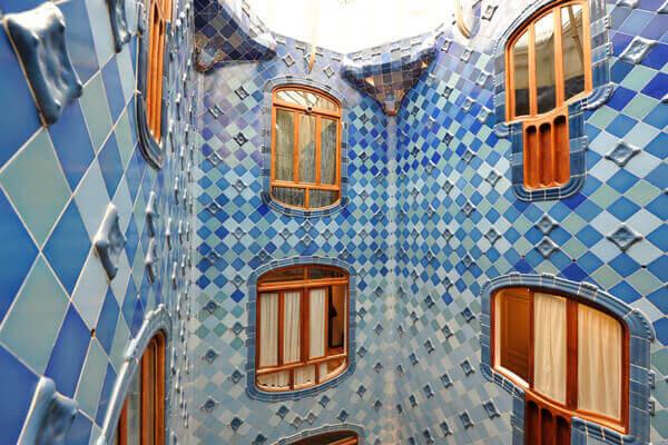 Patio interior de la Casa Batlló.