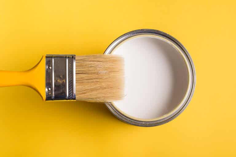 Pintura en el techo: otra manera de aportar color