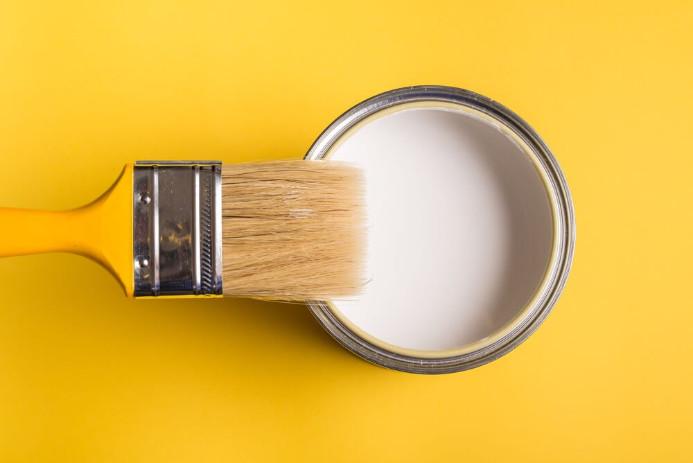 Pintura para el techo.