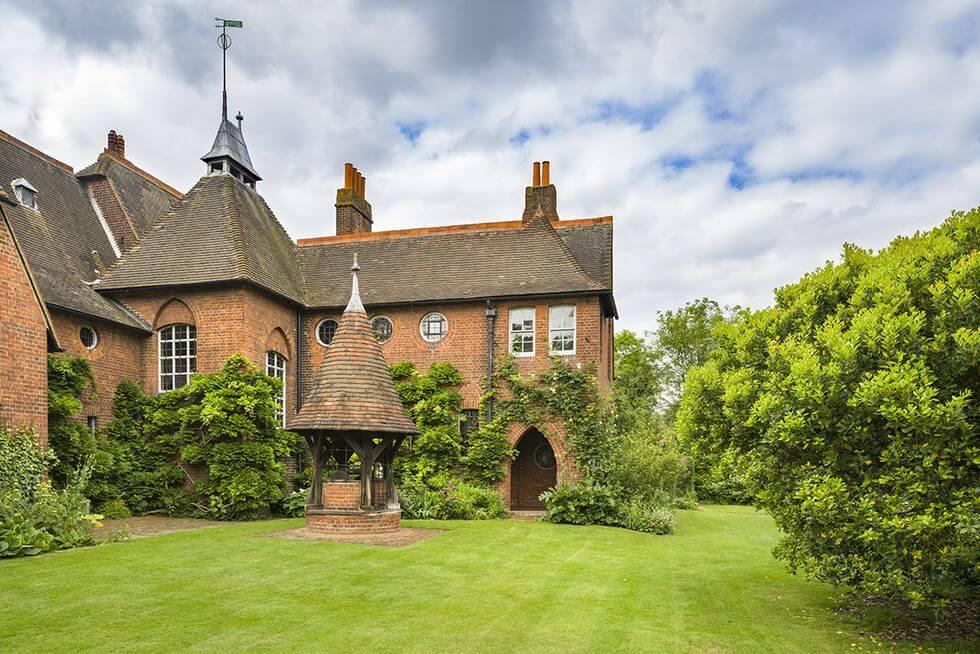 La Red House, el lugar donde nació el Arts & Crafts