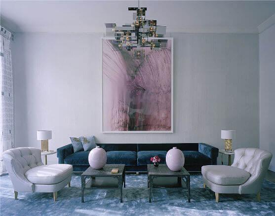 Salón diseñado por David Collins.