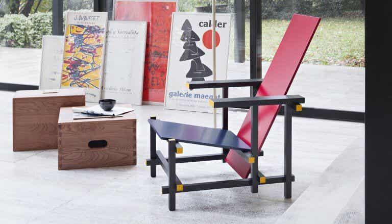 La silla Red and Blue, un icono del mobiliario de diseño