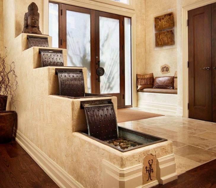 Cascadas para el interior del hogar