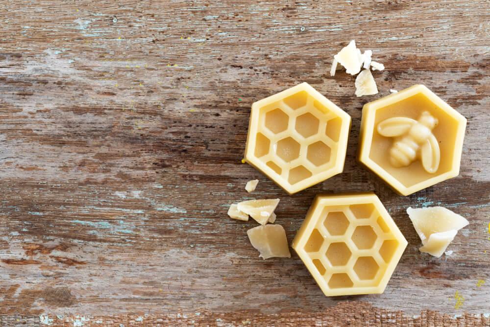 Cera de abejas.