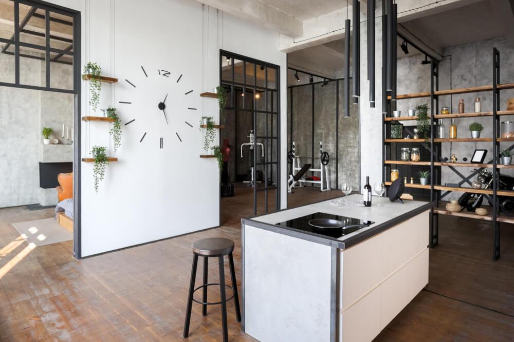 Decorar espacios diáfanos: creatividad e ingenio