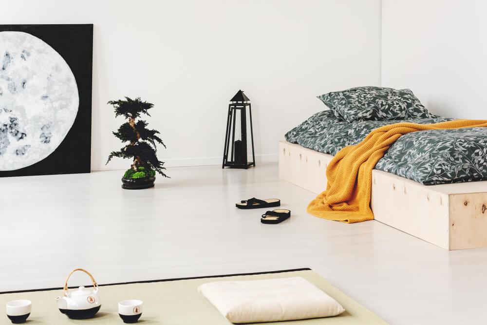 Dormitorio zen.