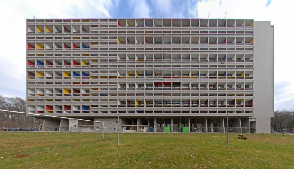 Edificio de Le Corbusier en Marsella.