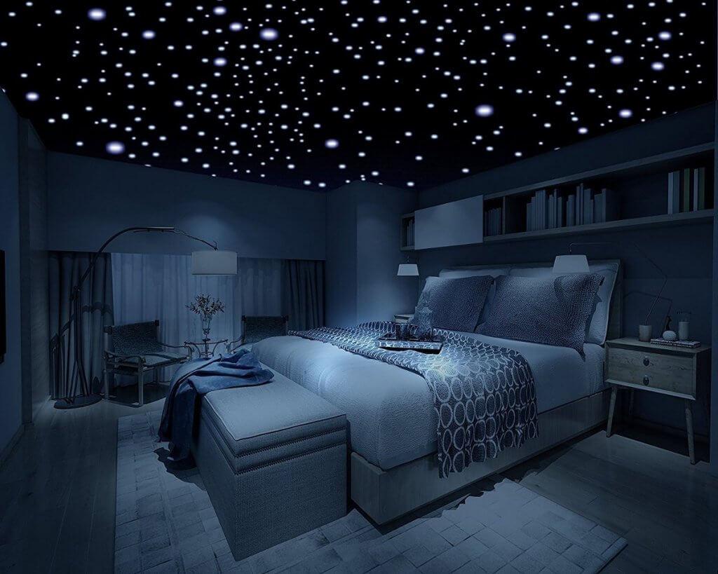 Estrellas brillantes para el techo.
