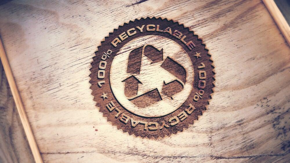 Madera reciclada.