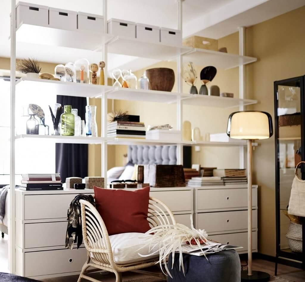 Mueble ELVARLI de IKEA.