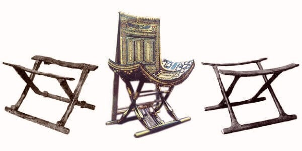 Origen de la silla.