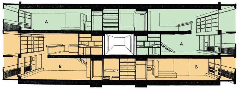 Planos apartamento Unidad Habitacional.