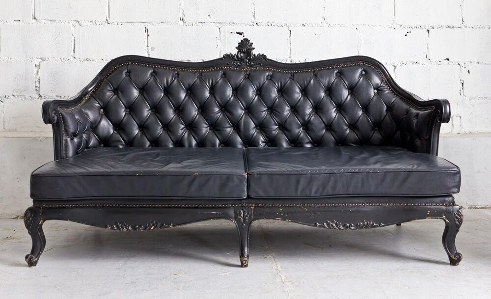Sofá vintage.