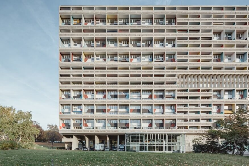 La Unité de Le Corbusier, hito de la vivienda colectiva