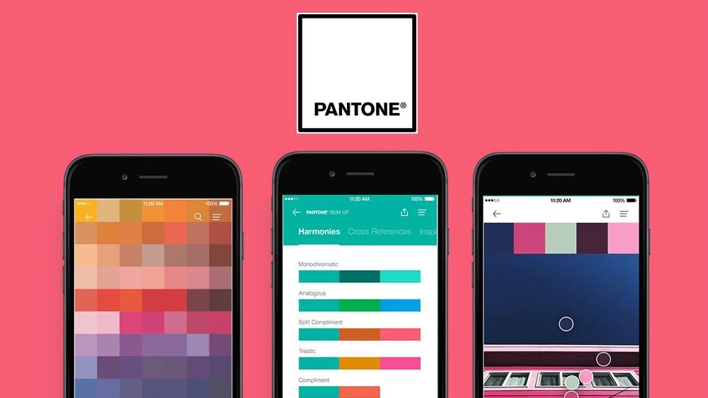 App Pantone Studio.