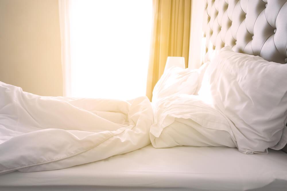 Los beneficios de hacer la cama por las mañanas
