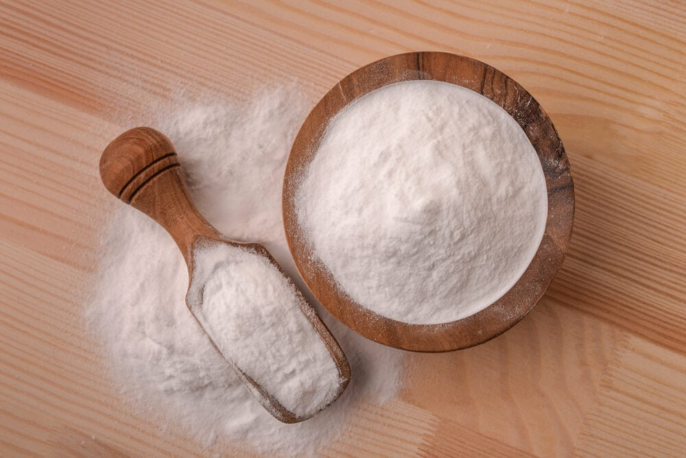 Bicarbonato de sodio.
