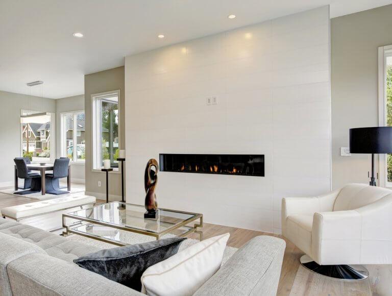 4 tipos de chimeneas modernas para tu hogar