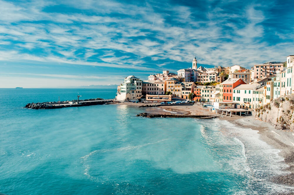 Costa mediterránea.