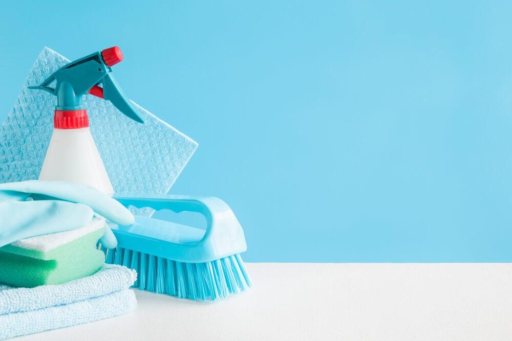 Desinfectante para baños.