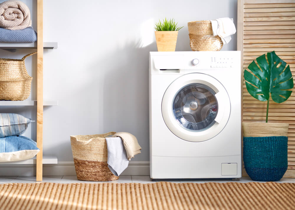 Zona de lavandería en casa