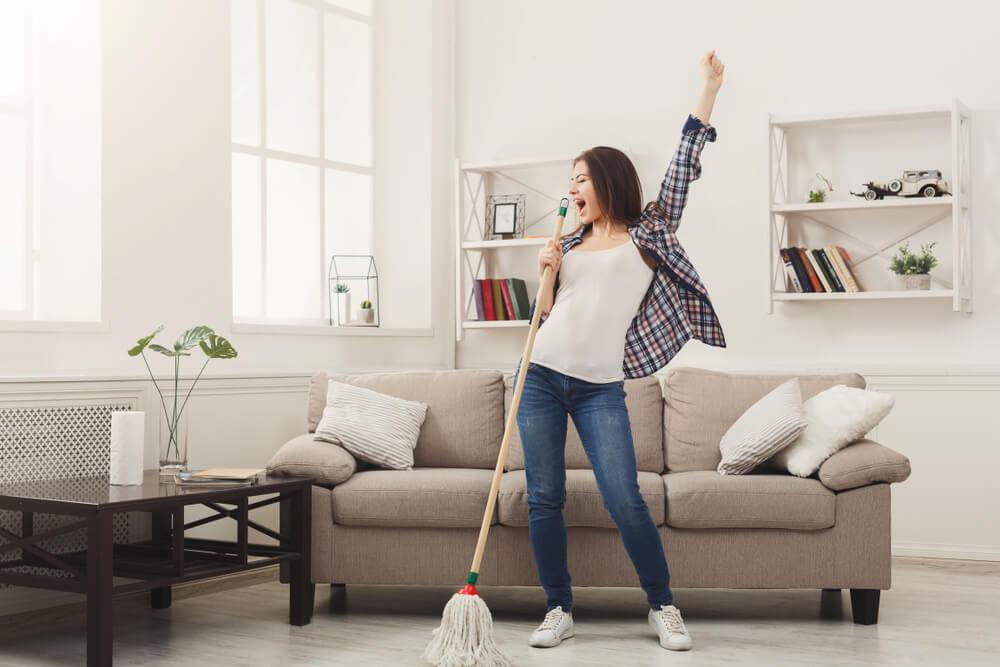 Método 20/10 para una casa limpia y ordenada