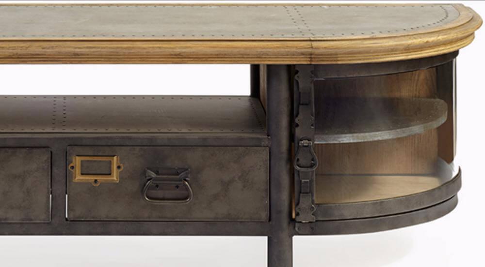 Mueble de metal vintage.