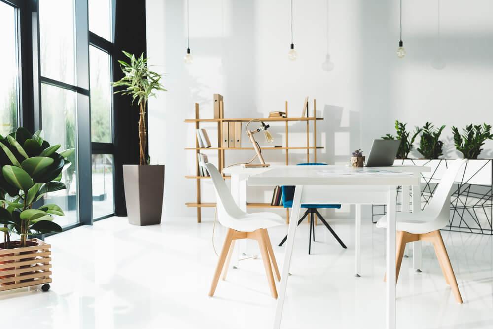 El color en el mobiliario de oficina