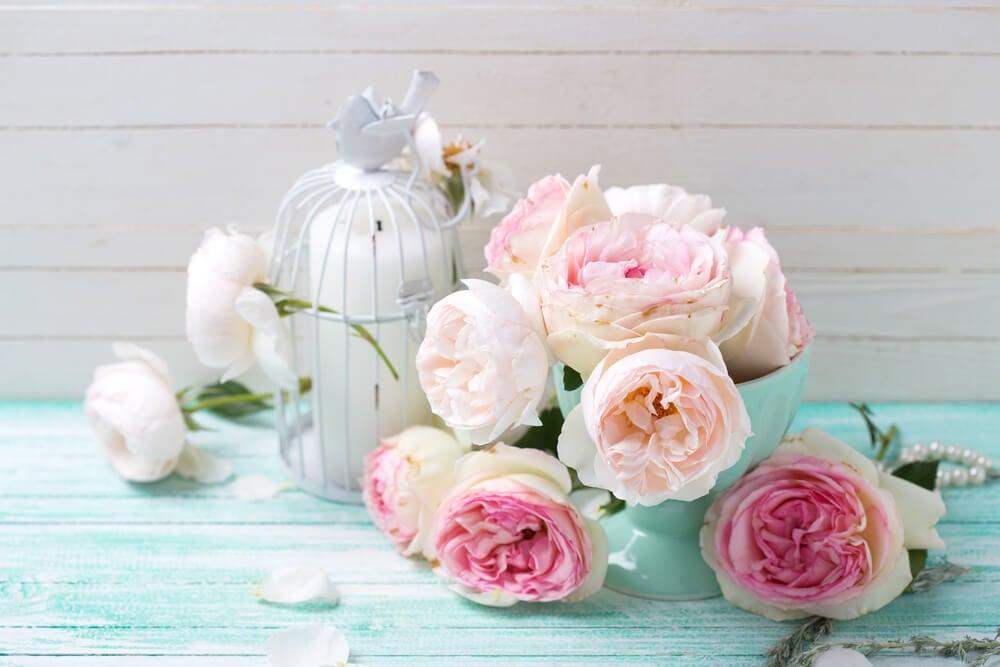 El estilo romántico: decoración con mucho encanto