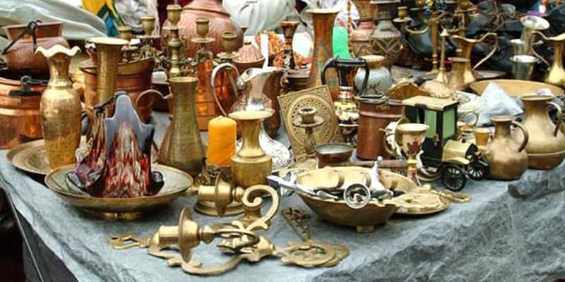 Flohmarkt am Naschmarkt.
