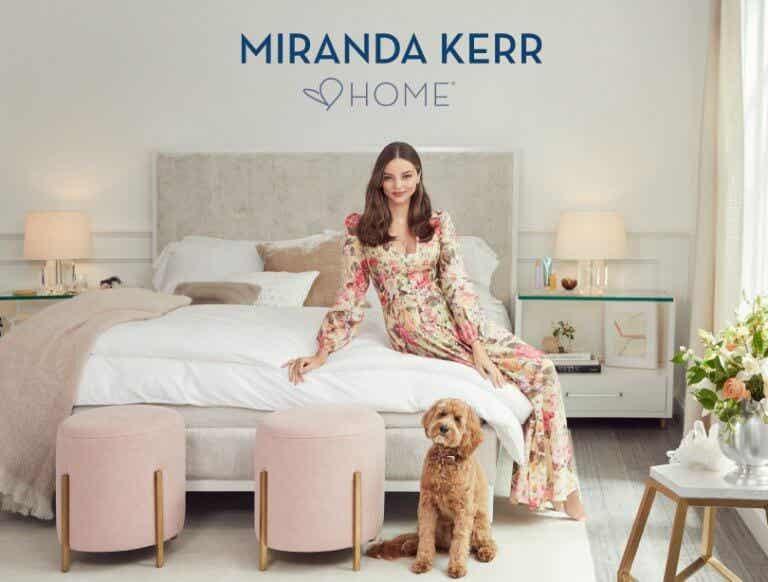 Miranda Kerr lanza una colección de muebles y complementos