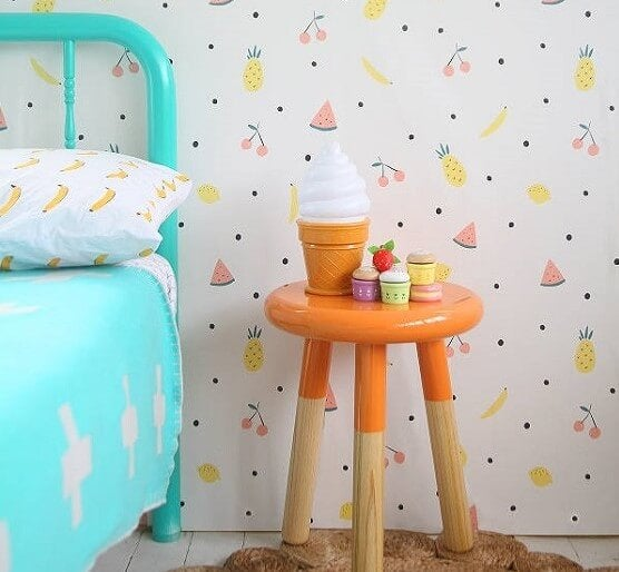 Papel de pared frutal.