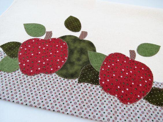 Toallas de frutas.